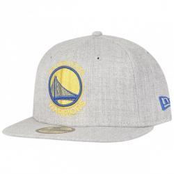 New Era 59Fifty Cap - Golden State Warriors HEATHER FITTED