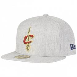 NEW ERA 59Fifty Cap NBA CLEVELAND CAVALIERS HEATHER FITTED
