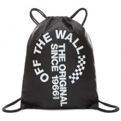 VANS MN LEAGUE BENCH BAG BLACK WHITE