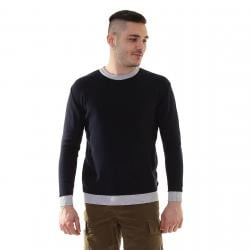 WOOLRICH COLOR BLOCK COTTON CREW NECK - gallery 1
