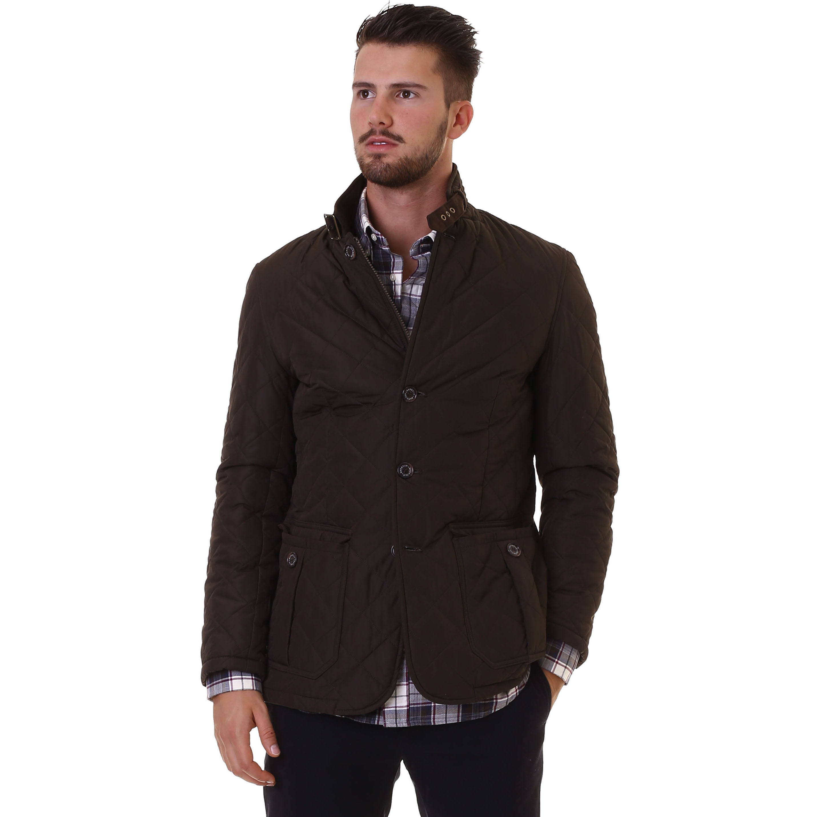 Barbour Quilted Lutz Jacket Ol51 Nencini Sport