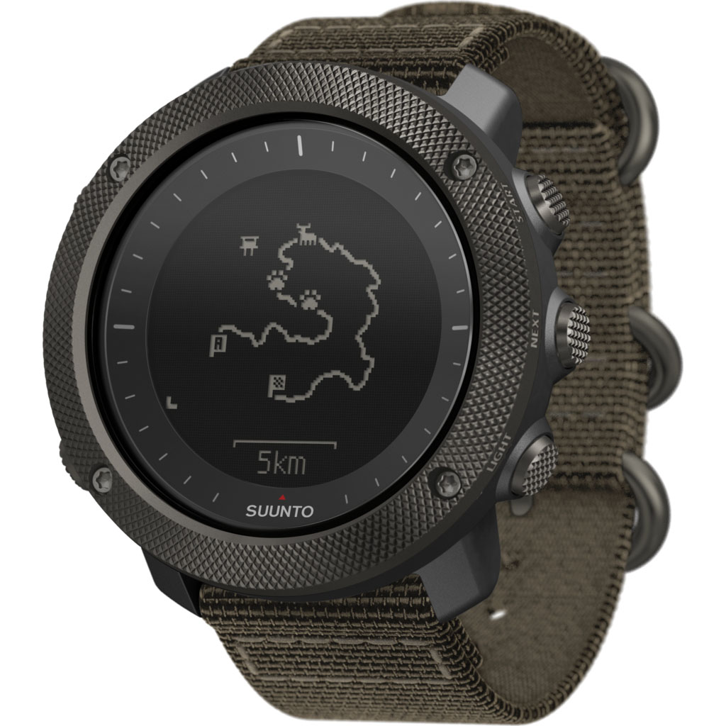 True Traverse Elliptical: Suunto Traverse Alpha Foliage - Outdoor Gps