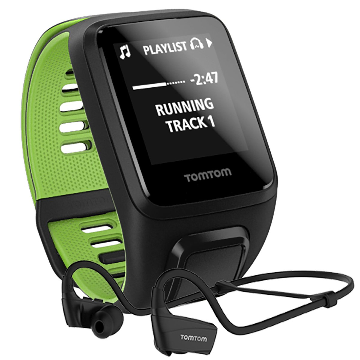 tomtom runner 3 music bluetooth headphones black s heart rate monitors nencini sport. Black Bedroom Furniture Sets. Home Design Ideas
