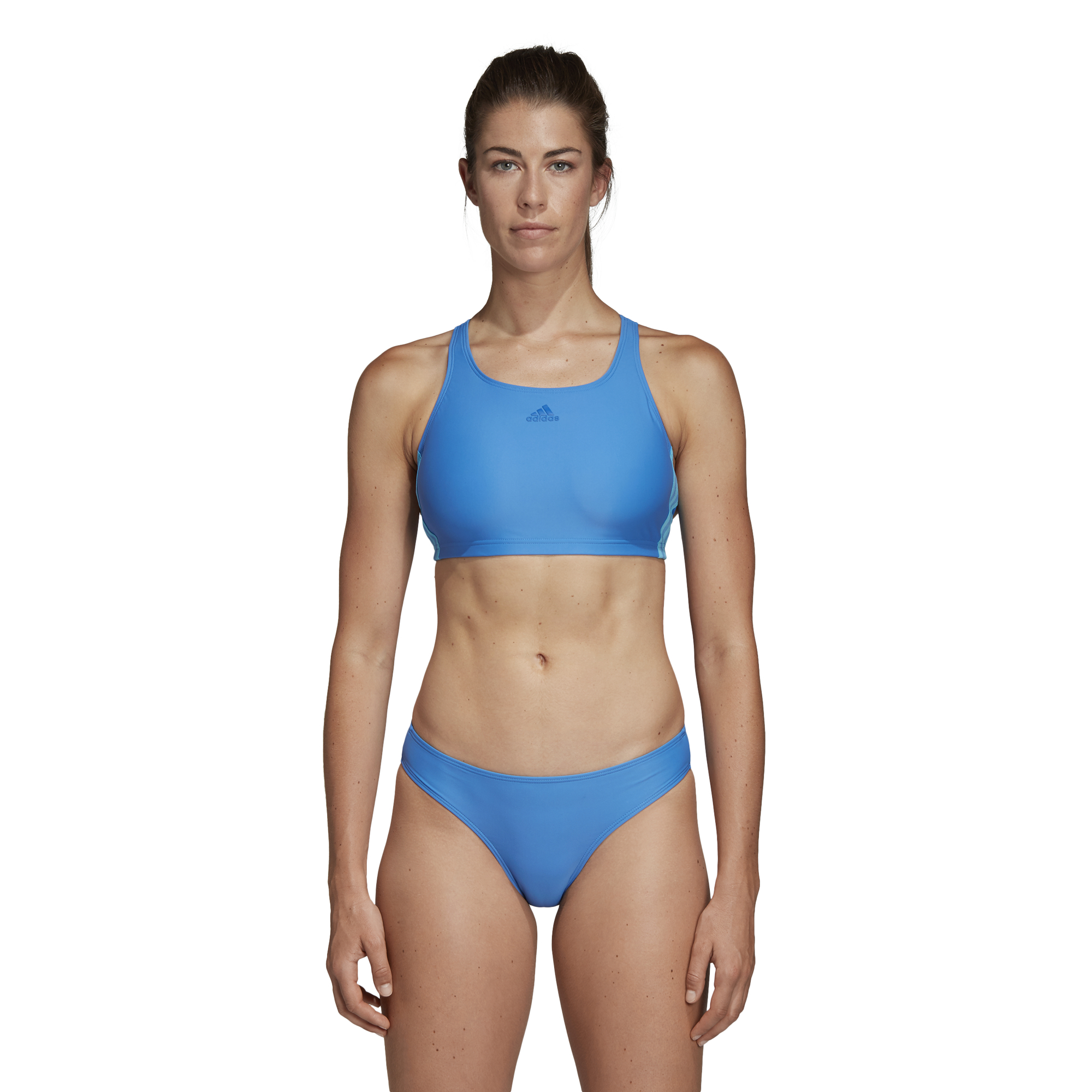 adidas Fit 2pc 3s Costume da Nuoto Donna