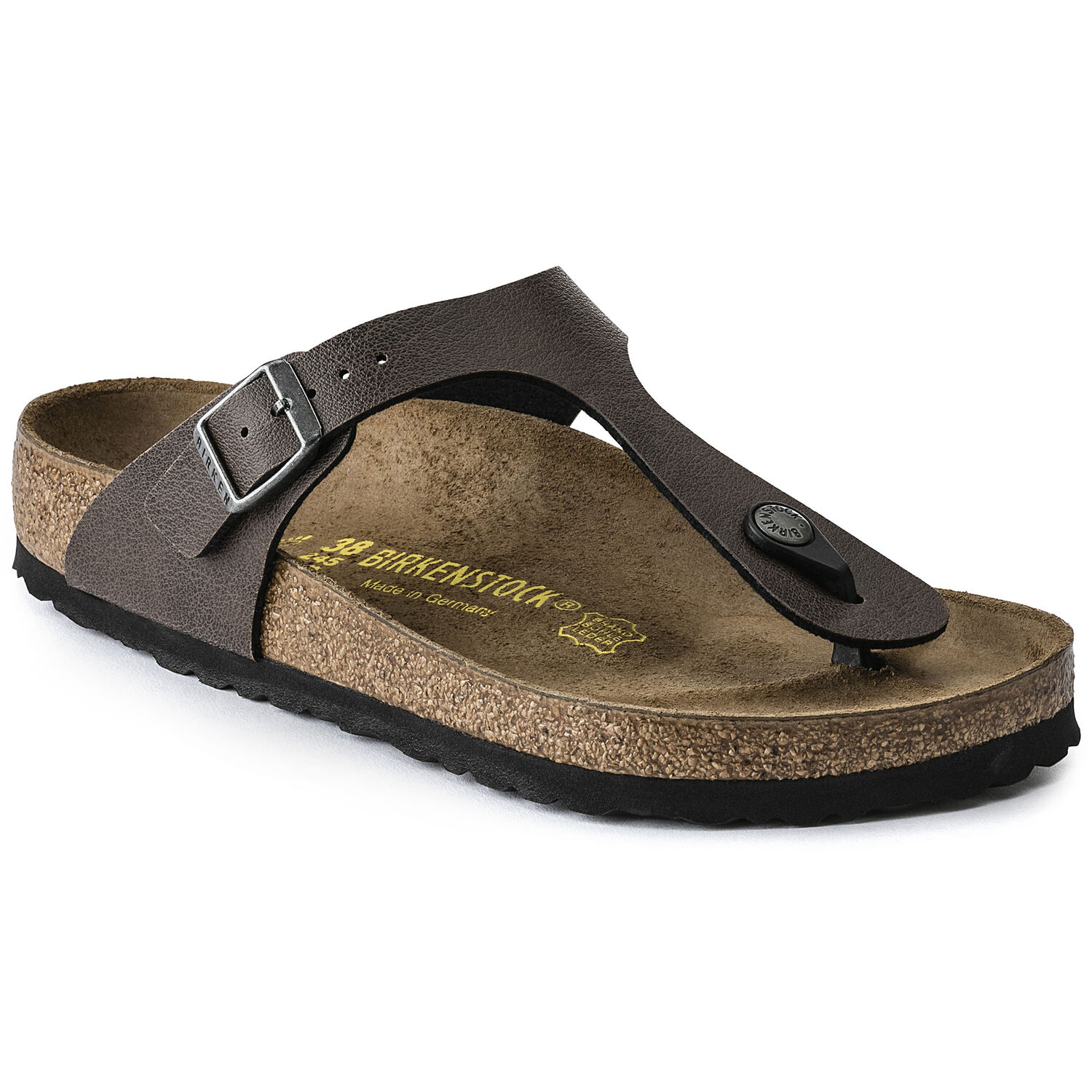 BIRKENSTOCK GIZEH PULL UP BROWN