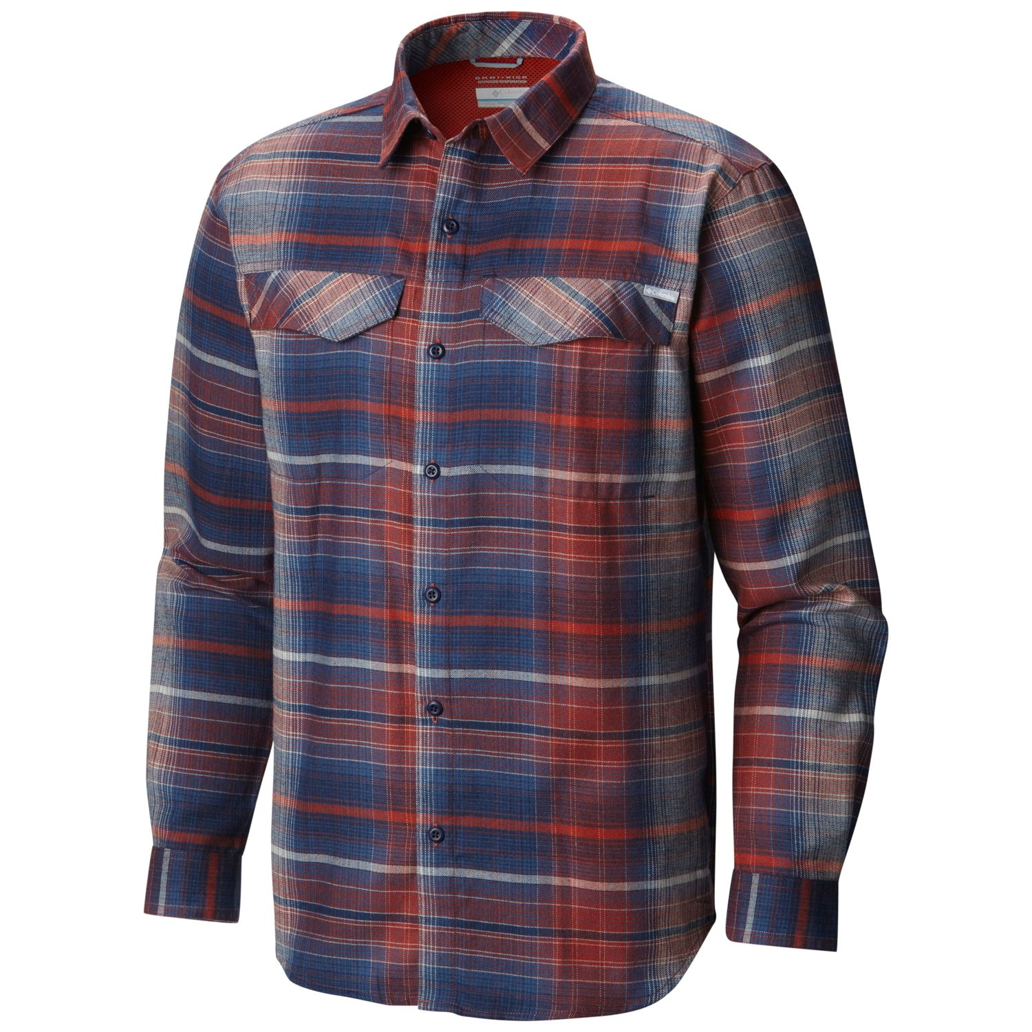 enorme sconto 4cf43 43986 COLUMBIA SILVER RIDGE FLANNEL LONG SLEEVE