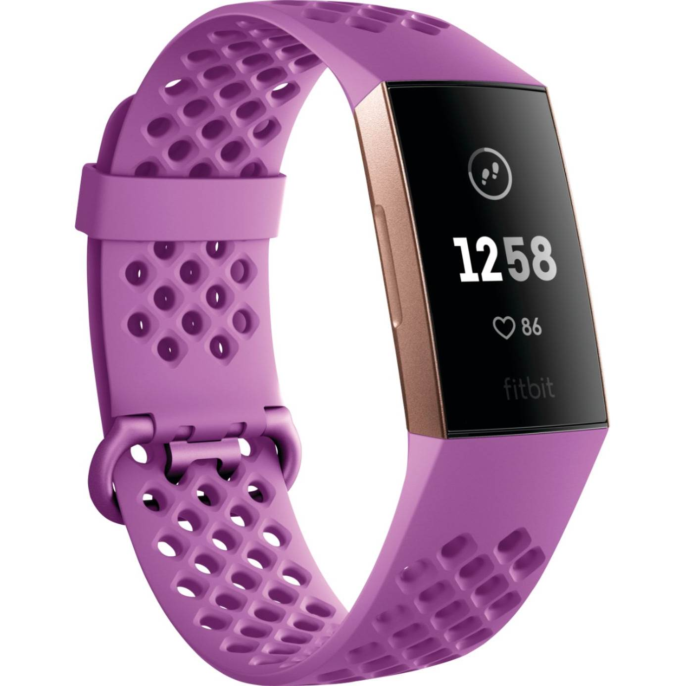 FITBIT CHARGE 3 BERRY/ROSE GOLD ALU