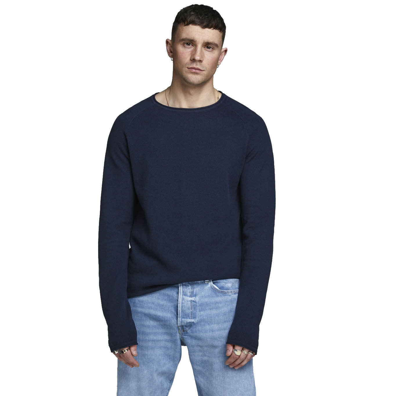 JACK JONES HILL KNIT CREW NECK NOOS