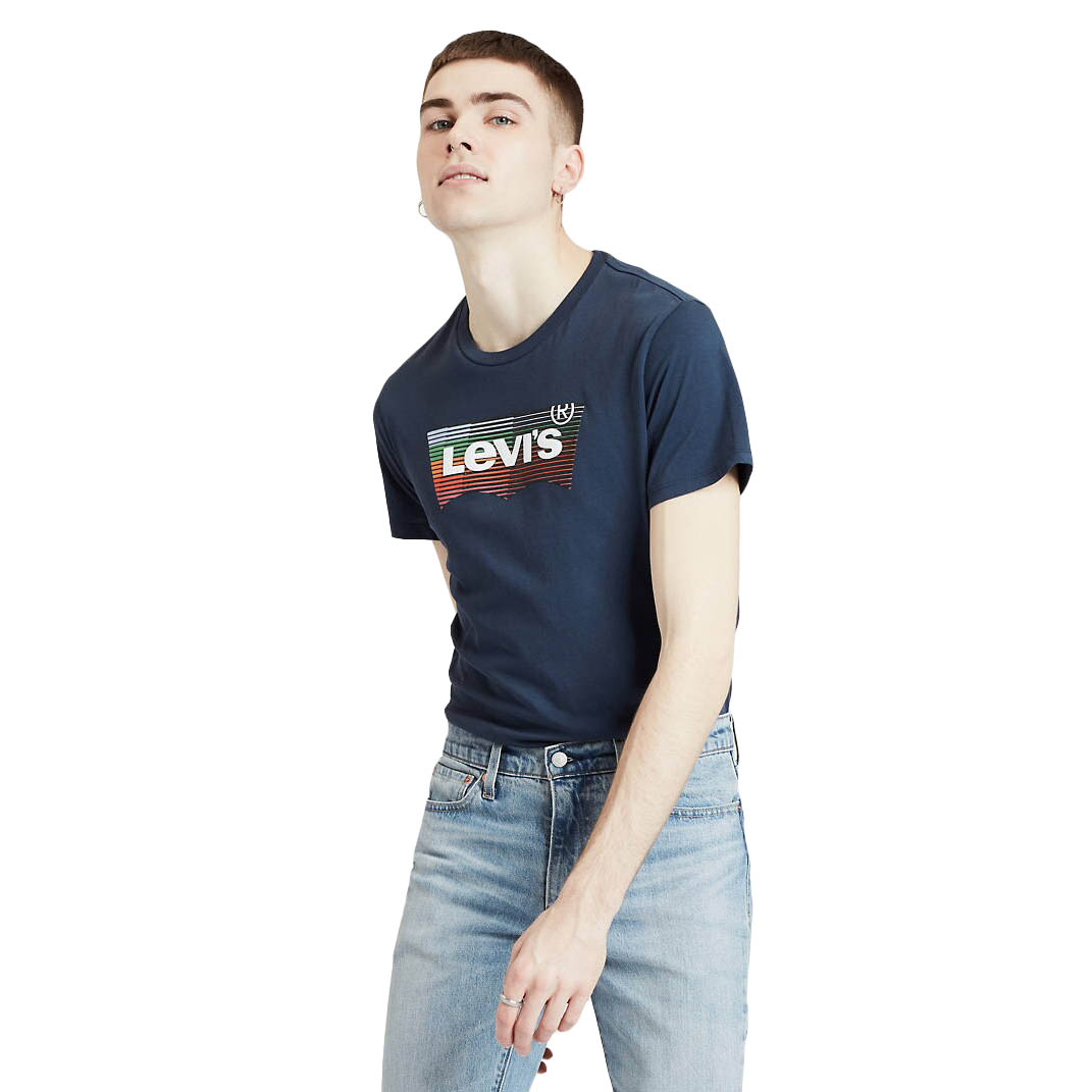 LEVI'S HOUSEMARK GRAPHIC TEE HM SSNL DRESS BLUES