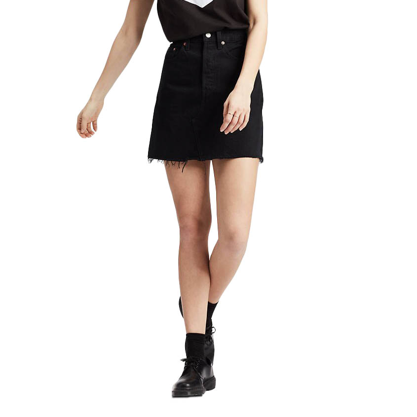 LEVI'S HR DECON ICONIC BF SKIRT LEFT BEHIND