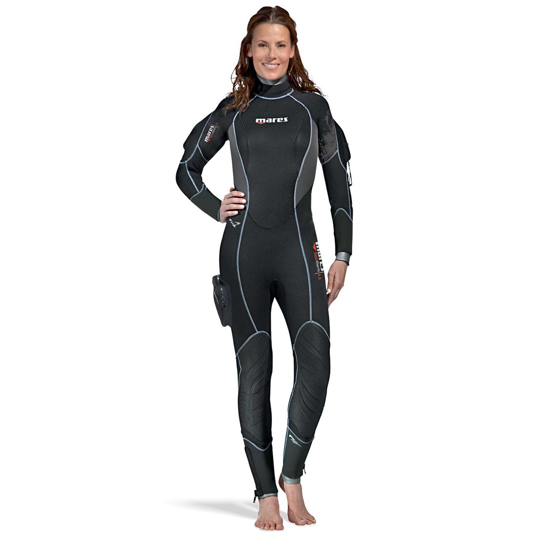 M Nero Mares Flexa Z-Therm She Dives Muta Donna