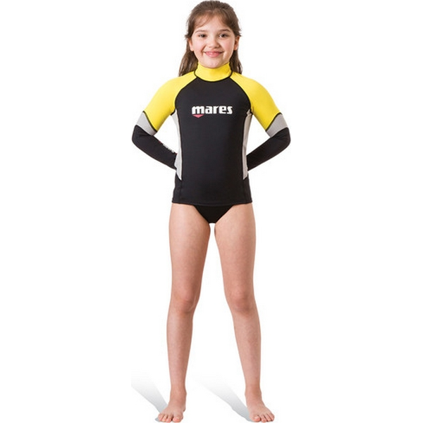 MARES RASH GUARD UPF BLOCK 80+ JUNIOR