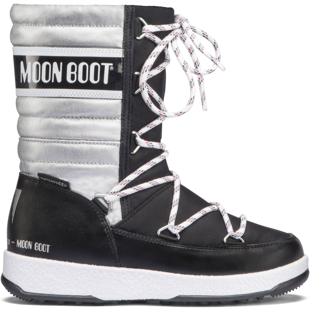 MOON BOOT JR QUILED WP