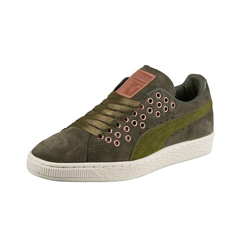PUMA SUEDE XL LACE VR WN'S 02 OLIVE NIGHT