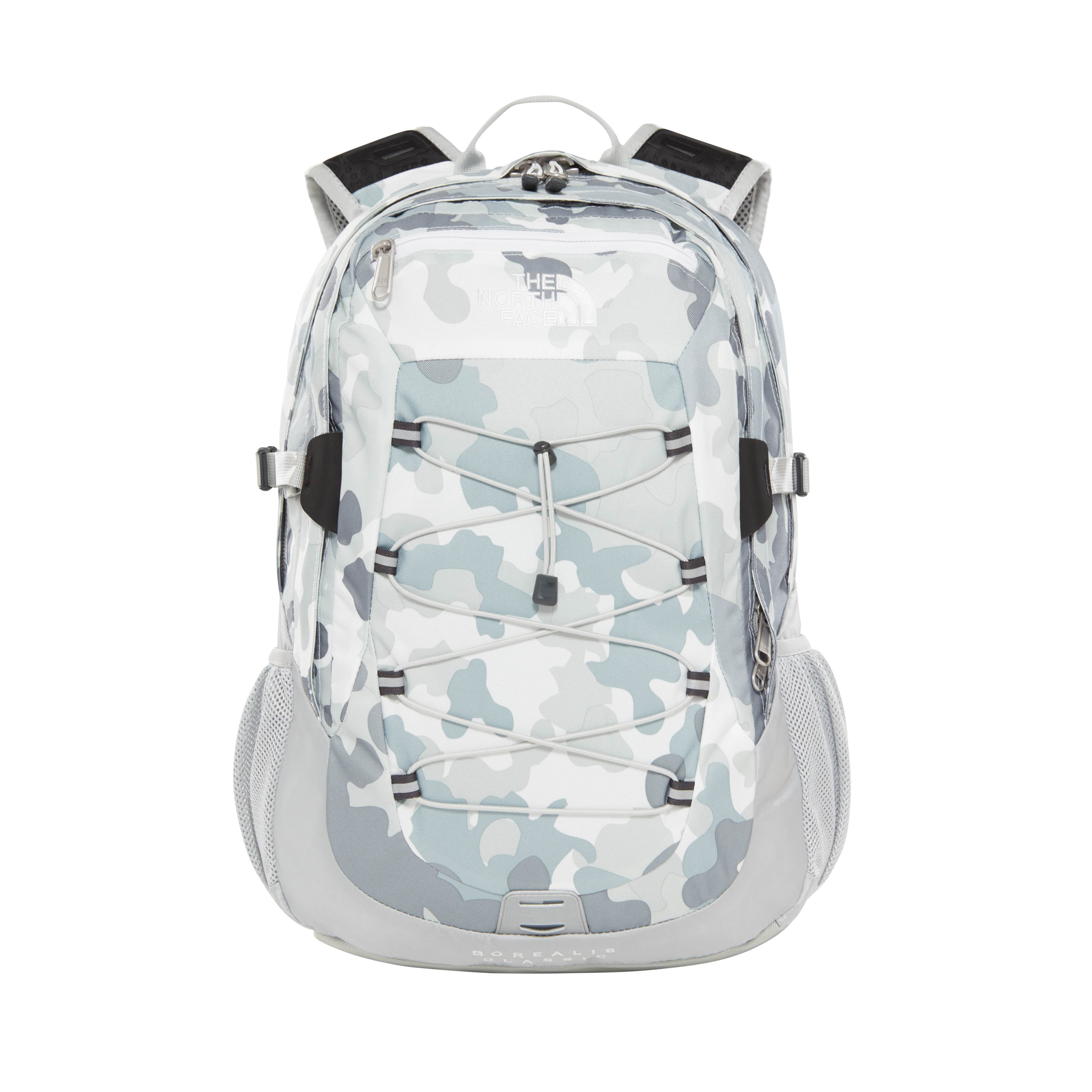 THE NORTH FACE BOREALIS CLASSIC WHITE/CAMOM PRINT/HIGH RISE G