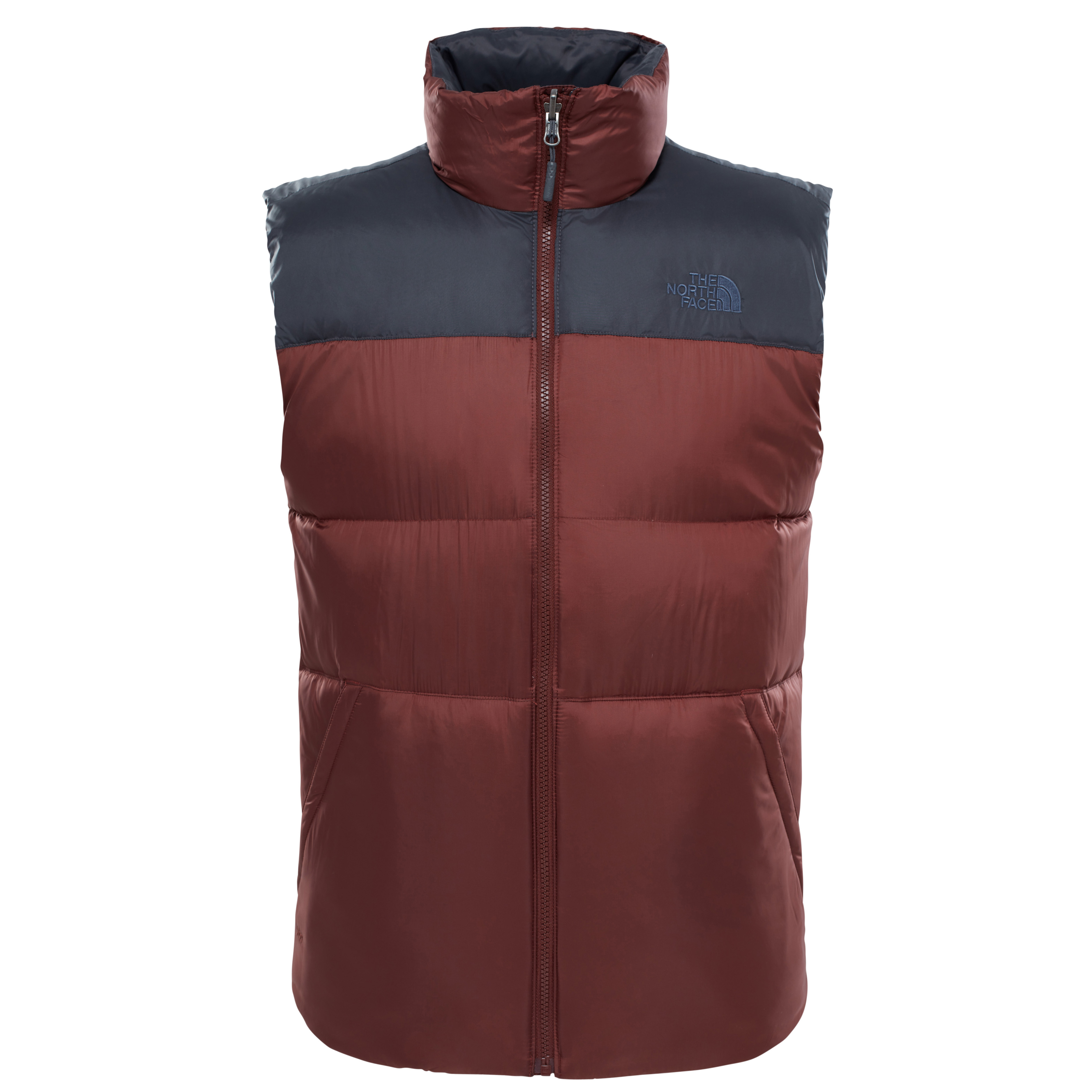 THE NORTH FACE M NUPTSE III VEST SEQUOIA RED