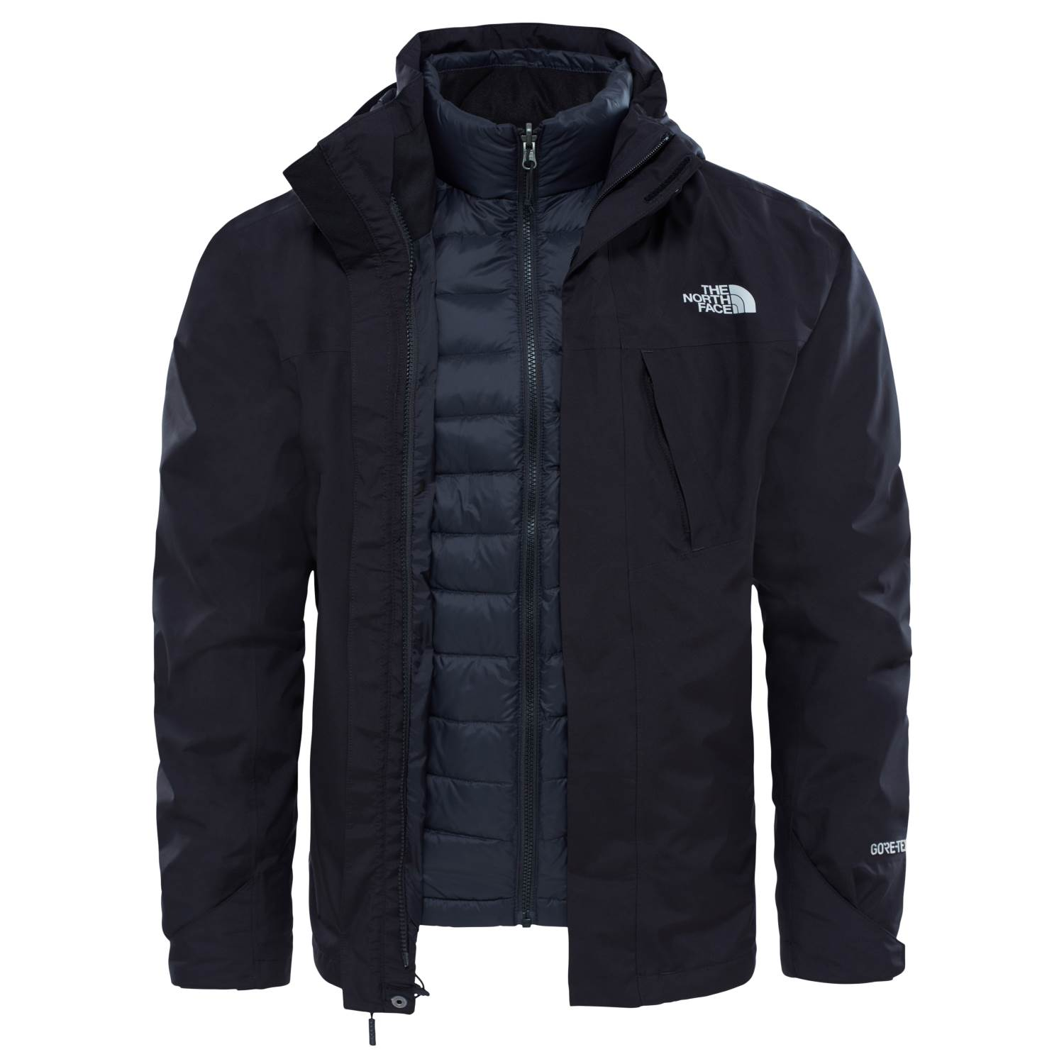 THE NORTH FACE M MOUNTAIN LIGHT TRICLIMATE JKT BLACK
