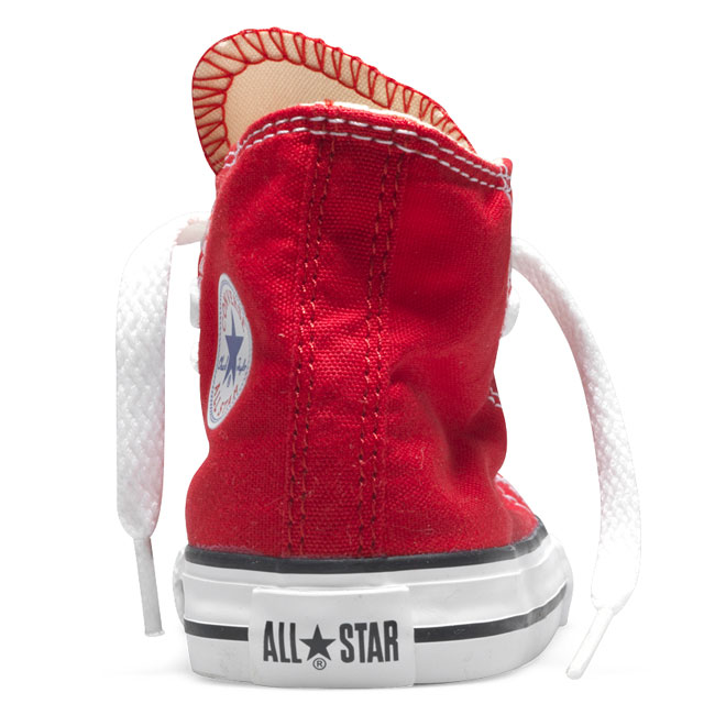 CONVERSE ALL STAR HI RED  - gallery 2