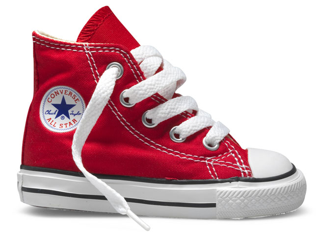 CONVERSE ALL STAR HI RED  - gallery 3