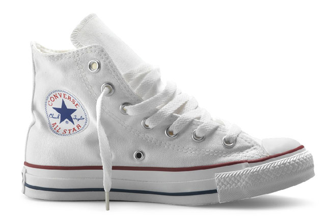 CONVERSE All Star Hi Canvas Bianco - gallery 2