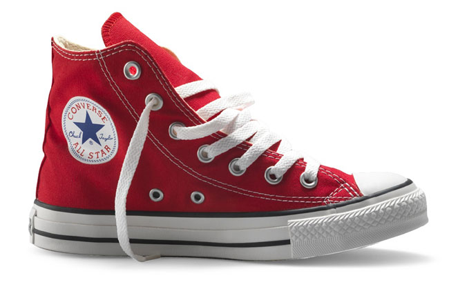 CONVERSE All Star Hi Canvas Rosso - gallery 2