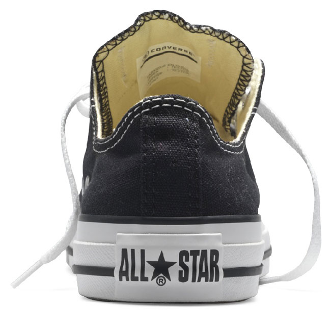 CONVERSE All Star Ox Canvas Nero - gallery 2