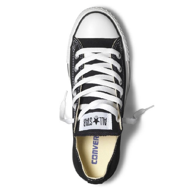 CONVERSE All Star Ox Canvas Nero - gallery 1