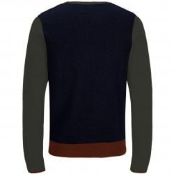 JACK JONES JORPULSE KNIT CREW NECK FOREST NIGH/KNIT FIT - gallery 1