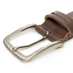 TIMBERLAND COW LEATHER BELT FLINT - gallery 2