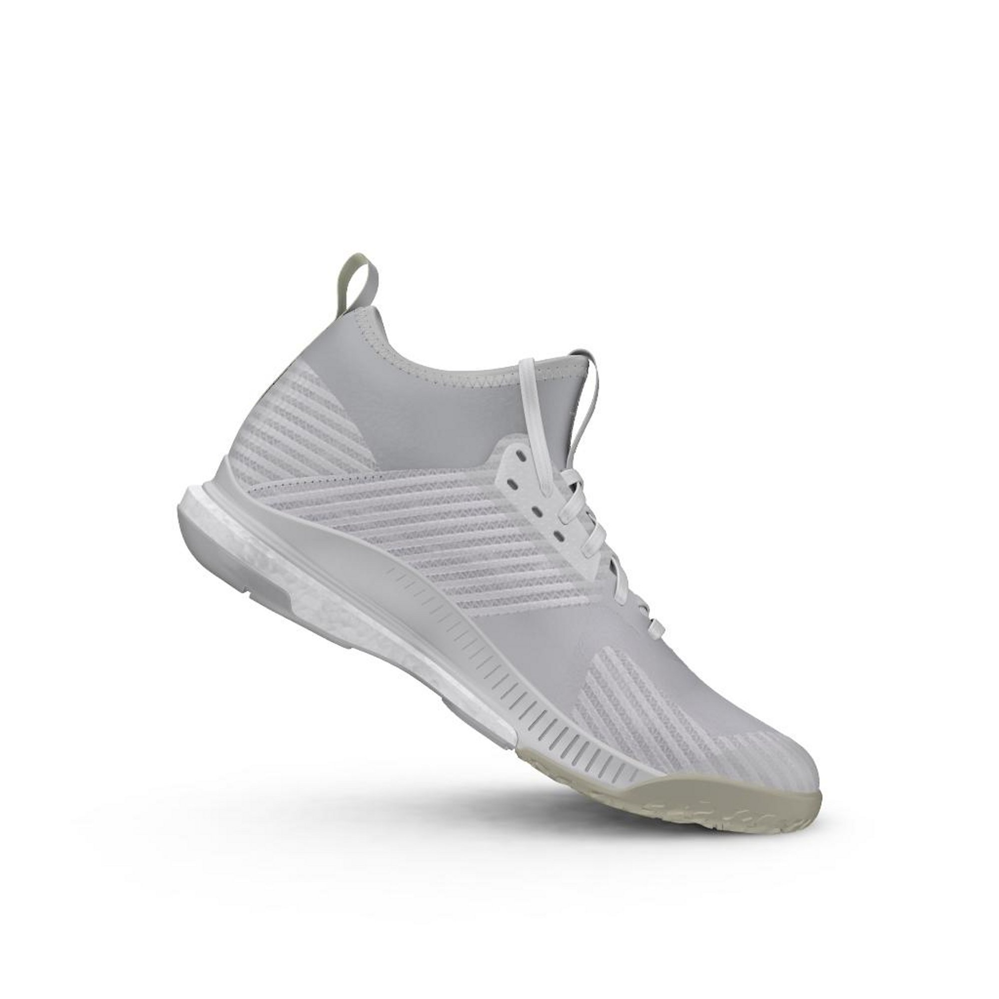 new concept 762b7 0779f ... ADIDAS CRAZYFLIGHT X MID 2 WHITE SILVER MET - gallery 6